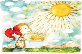 «В каждом рисунке солнце»